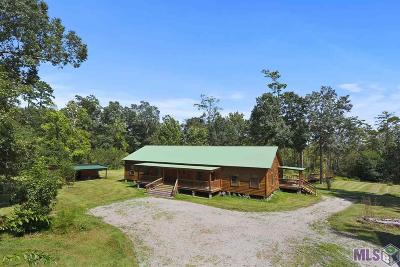 Single Family Home For Sale: 24640 La Hwy 444