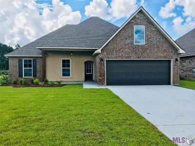 Denham Springs Single Family Home For Sale: 23100 Arcwood Dr