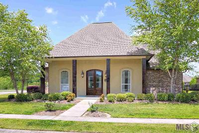 Central Single Family Home For Sale: 17611 Villa Trace Dr