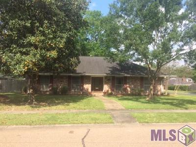 Baton Rouge Single Family Home For Sale: 1818 Brocade Dr