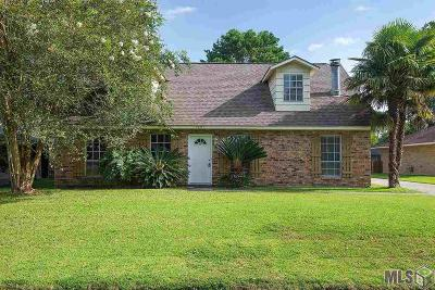 Baton Rouge LA Single Family Home For Sale: $159,800