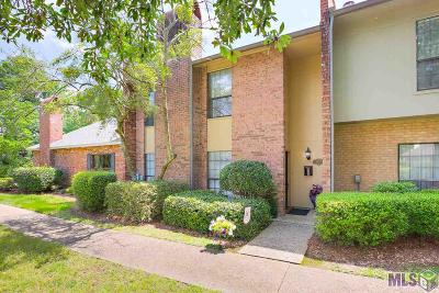 Baton Rouge Condo/Townhouse For Sale: 10212 N Magna Carta Dr