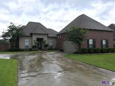 Denham Springs Single Family Home For Sale: 13812 Timberlake Dr