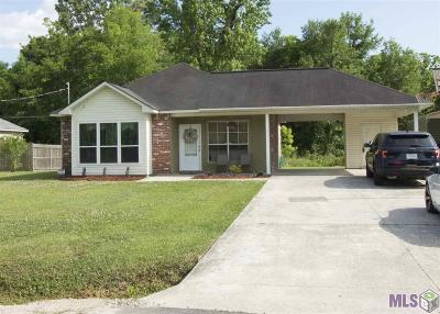Gonzales Single Family Home For Sale: 38099 N Robert Wilson Rd