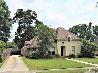Baton Rouge Single Family Home For Sale: 1145 Cypress Manor Ct