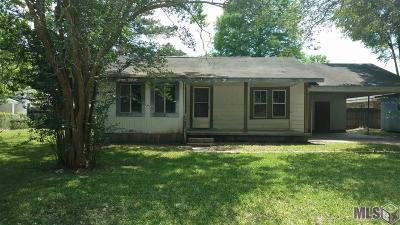 Denham Springs Single Family Home For Sale: 226 Pin Oak St