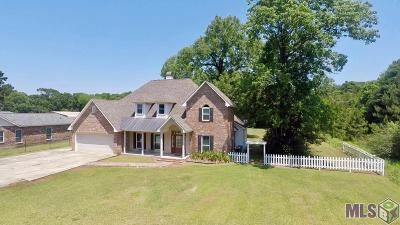 Denham Springs Single Family Home For Sale: 9955 Forrest Delatte Rd