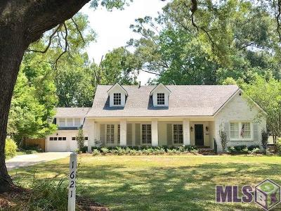 Baton Rouge Single Family Home For Sale: 1621 Ingleside Dr