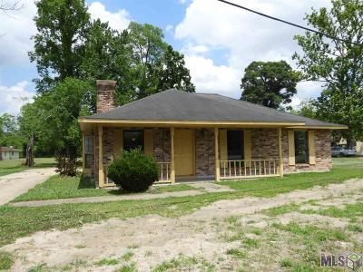Gonzales Single Family Home For Sale: 10306 Boudreau Rd