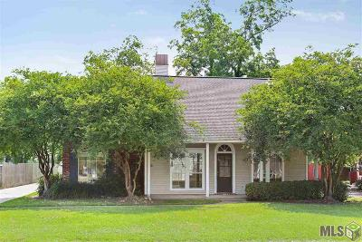 Prairieville Single Family Home For Sale: 17083 W Hunters Trace