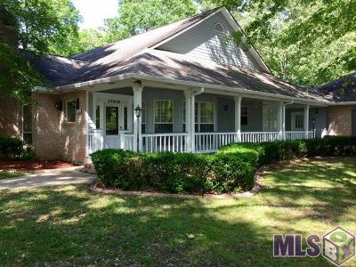 Baton Rouge Single Family Home Contingent: 17510 George Oneal Rd
