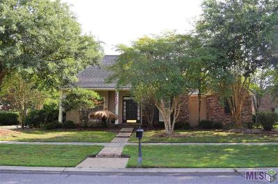 Baton Rouge Single Family Home For Sale: 10815 Gatewood Dr