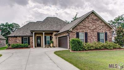Prairieville Single Family Home For Sale: 18125 Old Trail Dr