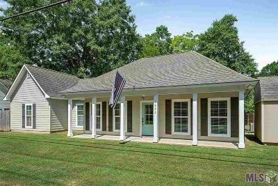 Zachary Single Family Home For Sale: 3333 Old Baker Rd