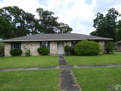 Baton Rouge Single Family Home For Sale: 9132 Roundtree Dr