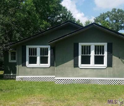 Denham Springs Single Family Home For Sale: 21710 La Hwy 16