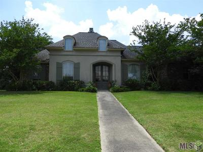 Zachary Single Family Home For Sale: 8391 Ormand Dr
