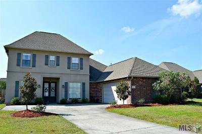 Denham Springs Single Family Home For Sale: 11419 Pleasant Knoll Dr