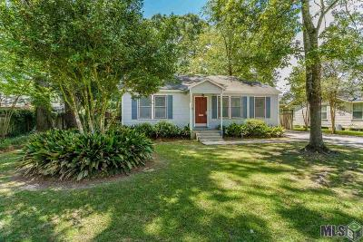 Baton Rouge Single Family Home For Sale: 4638 Sweetbriar St