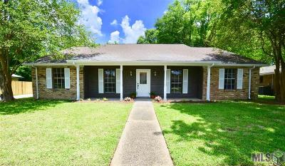 Baton Rouge Single Family Home For Sale: 13907 Katherine Ave