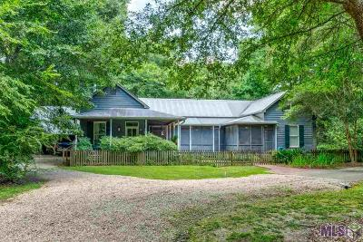 Denham Springs Single Family Home For Sale