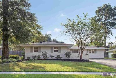 Baton Rouge Single Family Home For Sale: 8190 Brandon Dr