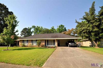 Baton Rouge LA Single Family Home For Sale: $170,000