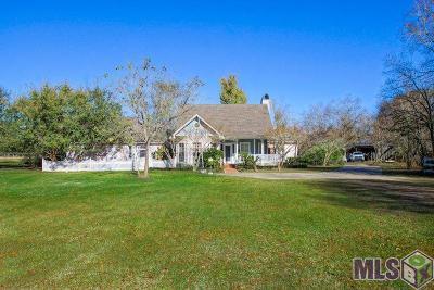 Baton Rouge Single Family Home For Sale: 13239 Denham Rd