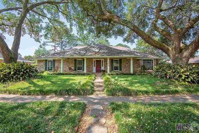 Baton Rouge Single Family Home For Sale: 5280 Glenburnie Dr