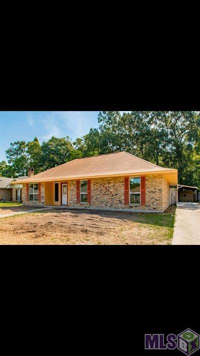 Baton Rouge Single Family Home For Sale: 4038 Lassen Dr