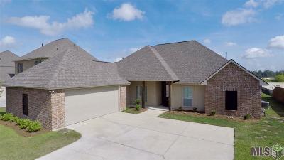 Denham Springs Single Family Home For Sale: 8669 Sandpiper