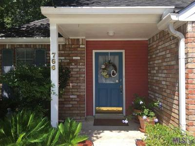 Baton Rouge Single Family Home For Sale: 766 Fawn Lake Dr