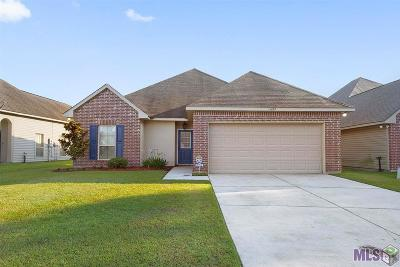 Denham Springs Single Family Home For Sale: 11459 Rossow Ct