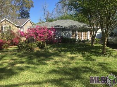 Baton Rouge Single Family Home For Sale: 1723 Marshall Dr