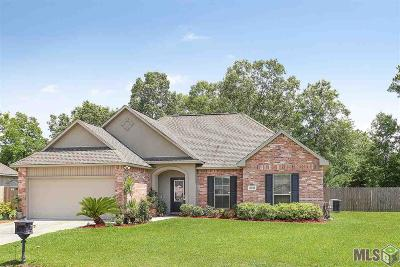 Denham Springs Single Family Home For Sale: 13926 Cantebury Ave