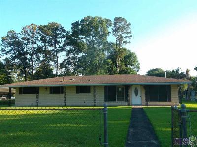 Baton Rouge LA Single Family Home For Sale: $107,700