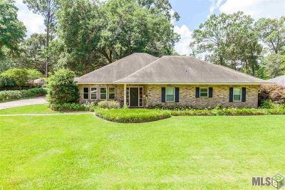 Baton Rouge LA Single Family Home For Sale: $220,000