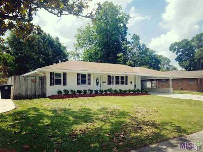 Baton Rouge Single Family Home For Sale: 8106 Harry Dr
