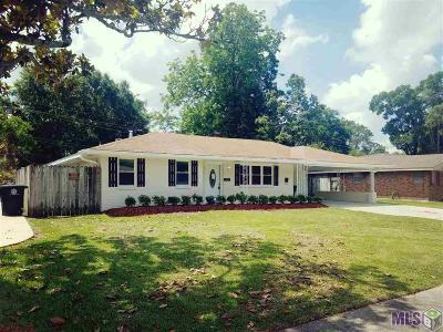 Baton Rouge LA Single Family Home For Sale: $163,800