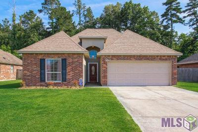 Denham Springs Single Family Home For Sale: 11411 Juban Parc Ave