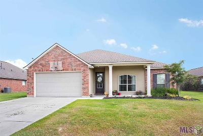 Denham Springs Single Family Home For Sale: 10467 Oakmount Dr
