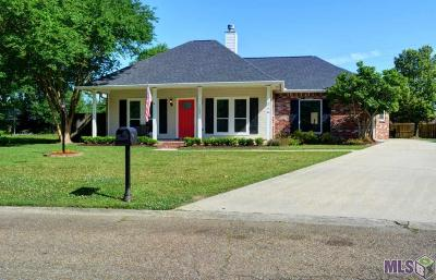Denham Springs Single Family Home For Sale: 1503 Brookfield Dr