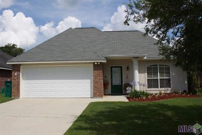 Denham Springs Single Family Home For Sale: 26565 Parkwood Dr