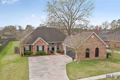 Denham Springs Single Family Home For Sale: 10278 Emerald Dr