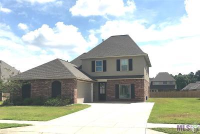 Denham Springs Single Family Home For Sale: 34016 Kingfisher St