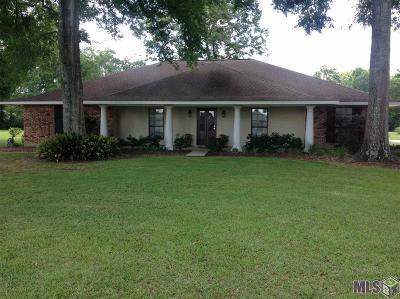 Denham Springs Single Family Home For Sale: 30699 Dunn Rd