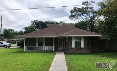 Gonzales Single Family Home For Sale: 14244 Troy Duplessis Rd