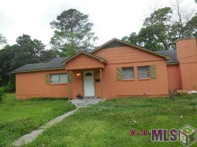 Baton Rouge LA Single Family Home For Sale: $34,900
