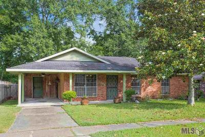Baton Rouge Single Family Home For Sale: 8846 Metairie Dr