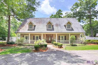 Baton Rouge Single Family Home For Sale: 19164 Hickory Bay Ct